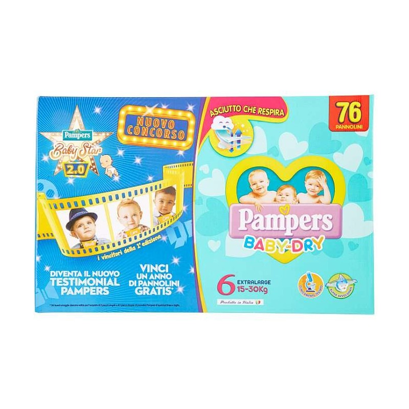Pampers Baby-Dry Extralarge...
