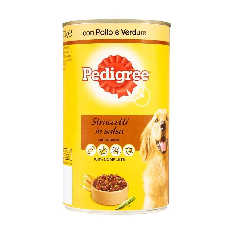 Pedigree Straccetti in...
