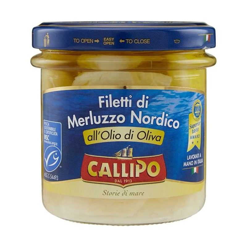 Callipo Filetti di Merluzzo...