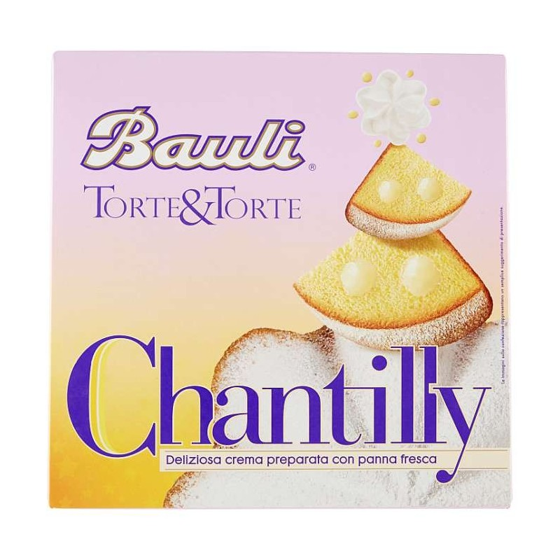 Bauli Chantilly con panna...